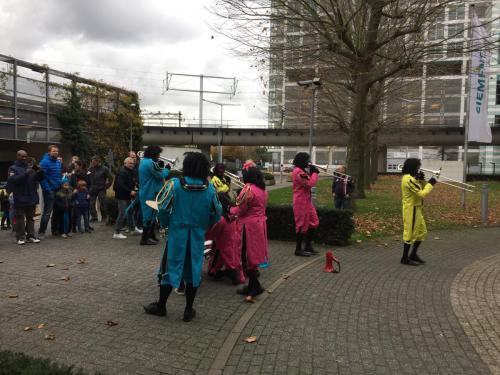Sinterklaasfeest bij Siemens Den Haag